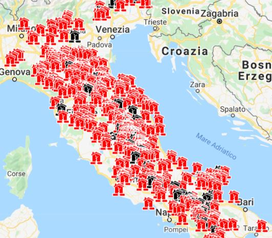 Meteo Italia Cartina.Previsioni Meteo Satelliti Meteo Monitoraggio Terremoti Webcam