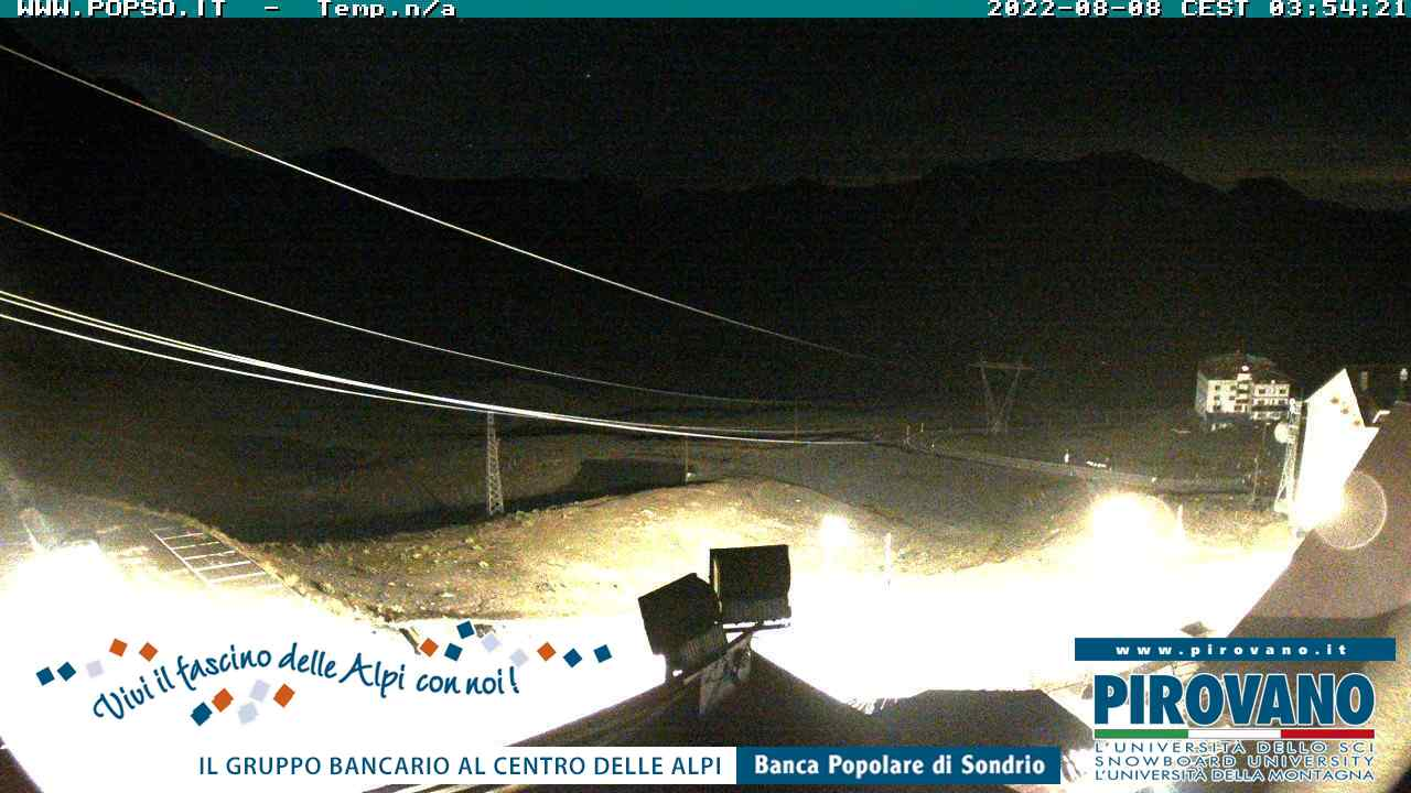 webcam Passo dello Stelvio (SO, 2758 m) in tempo reale
