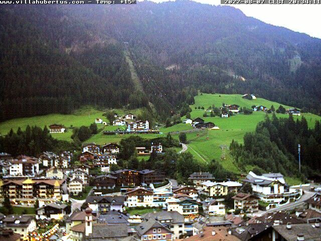 webcam  Ortisei (BZ, 1230 m ), webcam provincia di Bolzano, webcam Trentino-Alto Adige, Webcam Alpi - Trentino-Alto Adige
