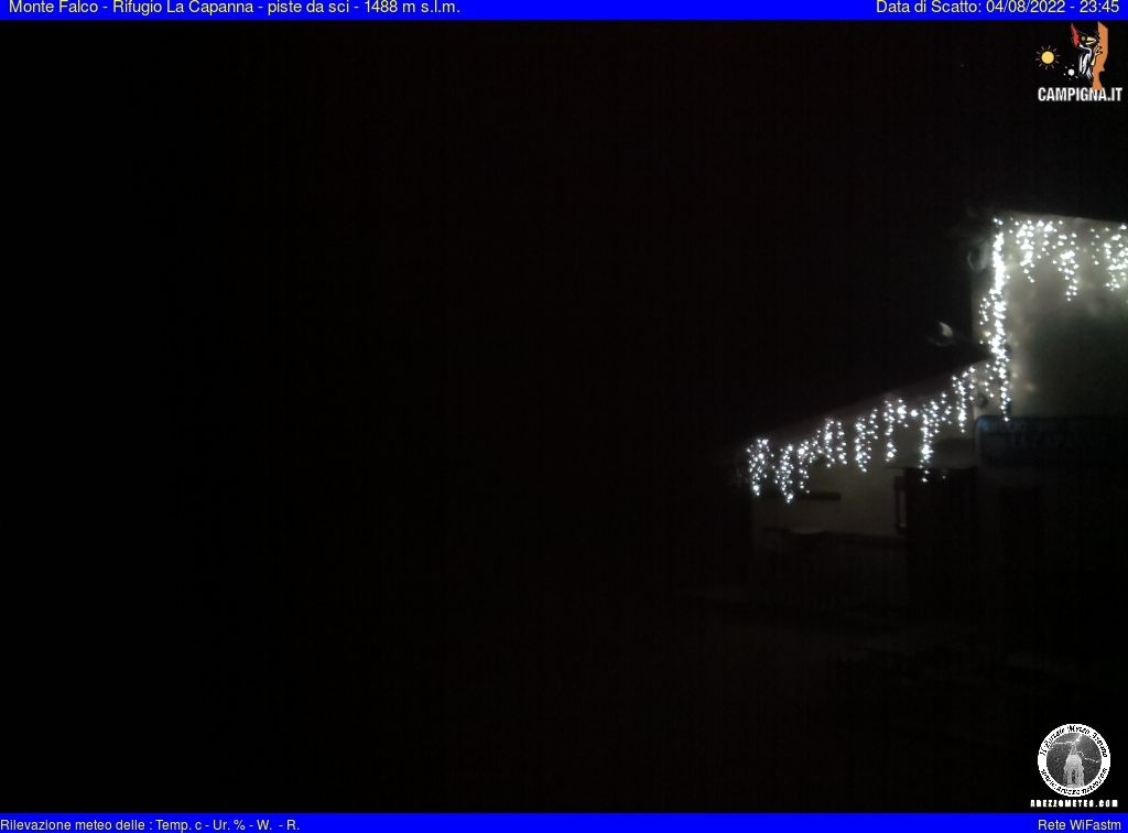 webcam Campigna, Monte Falco (FC, 1488 m slm) in tempo reale