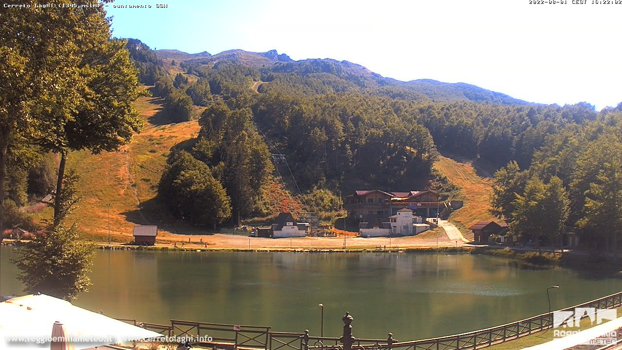 webcam Cerreto Laghi (RE, 1350 m slm) in tempo reale