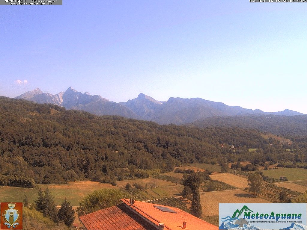 webcam  Moncigoli (230 m), Fivizzano (MS), webcam provincia di Massa-Carrara, webcam Toscana, Webcam Toscana