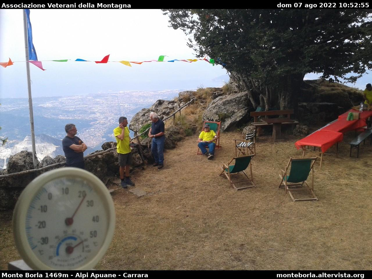 webcam  Monte Borla (1470 m), webcam provincia di Massa-Carrara, webcam Toscana, Webcam Toscana