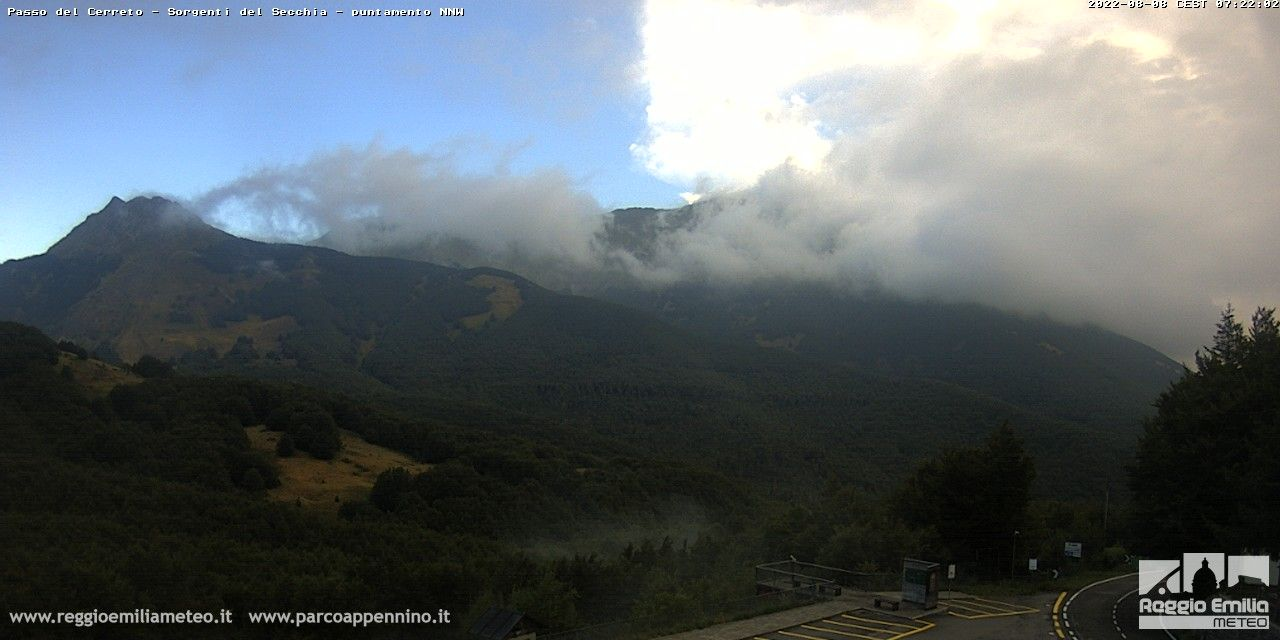 webcam  Passo del Cerreto (MS, 1260 m), webcam provincia di Massa-Carrara, webcam Toscana, Webcam Toscana