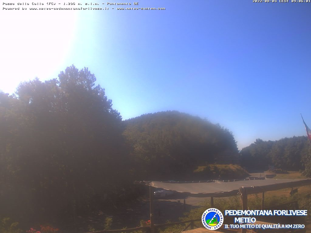 webcam  Passo della Calla (FI, 1296 m), webcam provincia di Firenze, webcam Toscana, Webcam Toscana