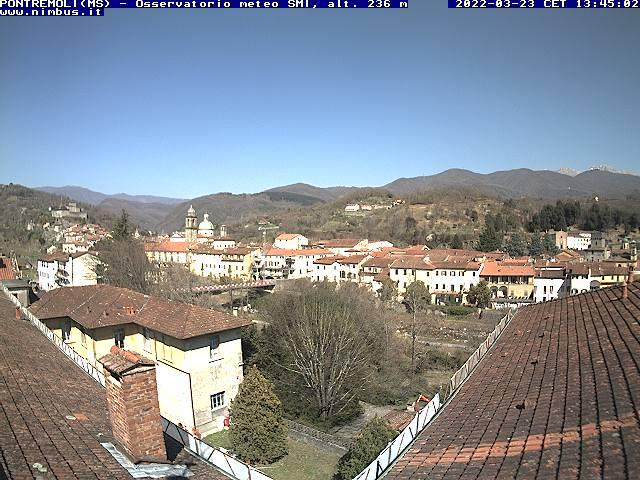 webcam  Pontremoli (MS, 240 m), webcam provincia di Massa-Carrara, webcam Toscana, Webcam Toscana