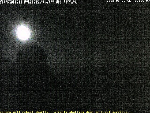 webcam  San Marcello Pistoiese (PT, 623 m), webcam provincia di Pistoia, webcam Toscana, Webcam Toscana