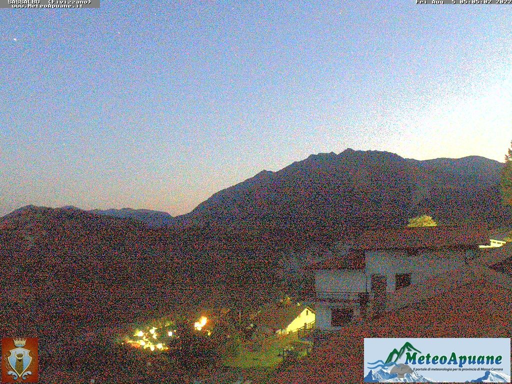 webcam  Sassalbo (1000 m), Fivizzano (MS), webcam provincia di Massa-Carrara, webcam Toscana, Webcam Toscana