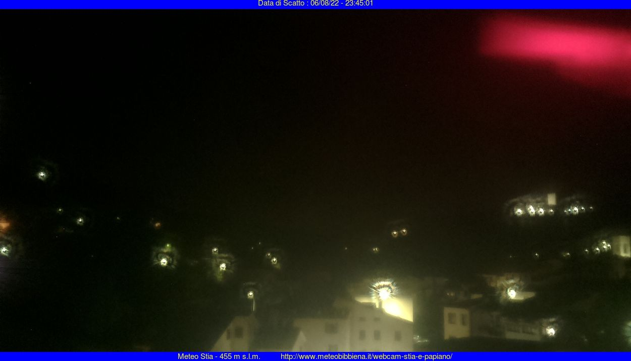 webcam  Stia (AR, 455 m), webcam provincia di Arezzo, webcam Toscana, Webcam Toscana
