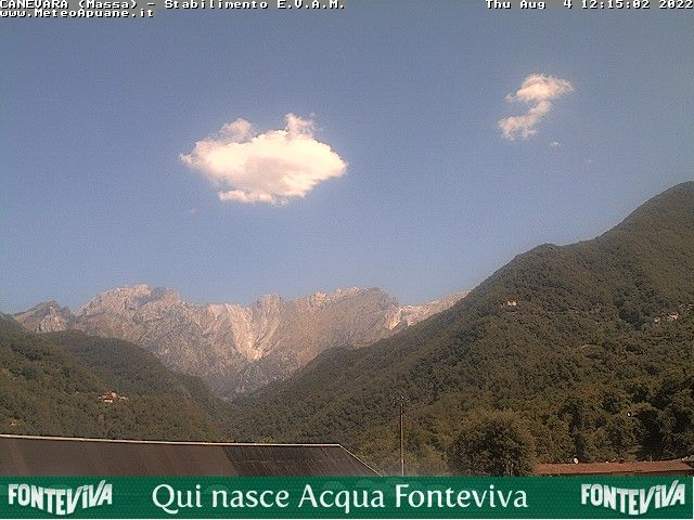webcam  Caneva (170 m), Massa, webcam provincia di Massa-Carrara, webcam Toscana, Webcam Toscana
