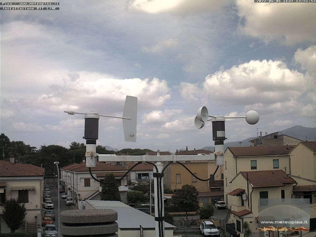 webcam  Pisa (5 m), webcam provincia di Pisa, webcam Toscana, Webcam Toscana
